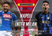 Prediksi Napoli vs Inter Milan 6 Maret 2020