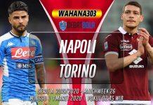 Prediksi Napoli vs Torino 1 Maret 2020