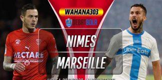 Prediksi Nimes vs Marseille 29 Februari 2020