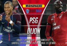 Prediksi PSG vs Dijon 29 Februari 2020