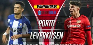 Prediksi Porto vs Bayer Leverkusen 28 Februari 2020