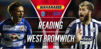 Prediksi Reading vs West Bromwich Albion 13 Februari 2020