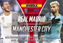 Prediksi Real Madrid vs Manchester City 27 Februari 2020