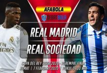 Prediksi Real Madrid vs Real Sociedad 7 Februari 2020