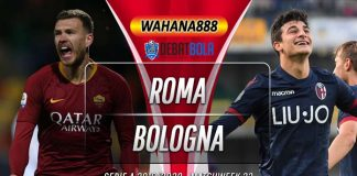 Prediksi Roma vs Bologna 8 Februari 2020