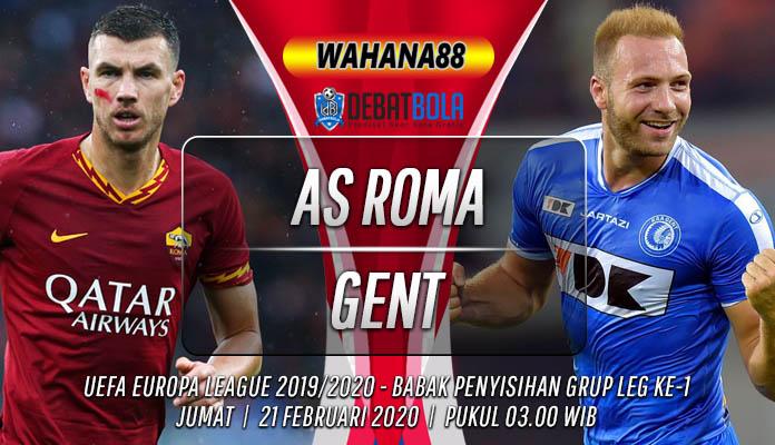 Prediksi Roma vs Gent 21 Februari 2020