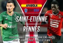 Prediksi Saint-Etienne vs Rennes 6 Maret 2020