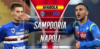 Prediksi Sampdoria vs Napoli 4 Februari 2020