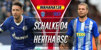 Prediksi Schalke vs Hertha Berlin 5 Februari 2020