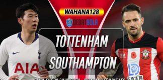 Prediksi Tottenham Hotspur vs Southampton 6 Februari 2020
