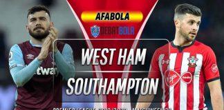 Prediksi West Ham vs Southampton 29 Februari 2020