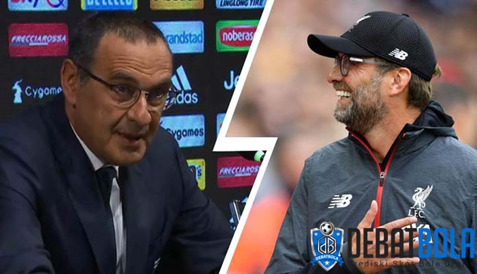 Sarri: Klopp Bercanda Jagokan Juve Juara Liga Champions