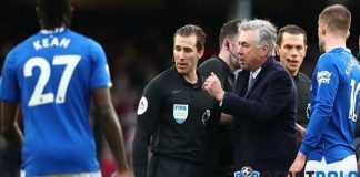 Dikartu Merah, Carlo Ancelotti Akan Tetap Pimpin Everton