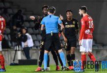 Dorong Wasit, Pemain Monaco Dihukum Larangan Bertanding 6 Bulan
