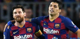 Kata Luis Suarez Tentang Leo Messi dan Lautaro Martinez