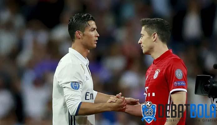 Lewandowski Pernah Diminta Ronaldo dan Ramos untuk Gabung Real Madrid