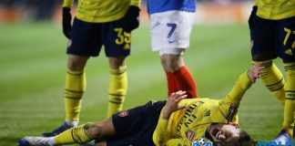 Lucas Torreira Cedera Retak Pergelangan Kaki