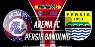 Prediksi Arema vs Persib 8 Maret 2020