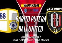 Prediksi Barito Putera vs Bali United 6 Maret 2020