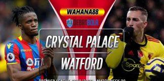 Prediksi Crystal Palace vs Watford 7 Maret 2020