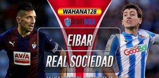 Prediksi Eibar vs Real Sociedad 11 Maret 2020