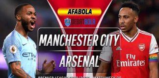 Prediksi Manchester City vs Arsenal 12 Maret 2020