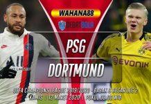 Prediksi PSG vs Borussia Dortmund 12 Maret 2020