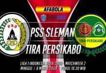 Prediksi PSS Sleman vs TIRA Persikabo 8 Maret 2020