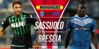 Prediksi Sassuolo vs Brescia 10 Maret 2020