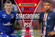 Prediksi Strasbourg vs PSG 7 Maret 2020