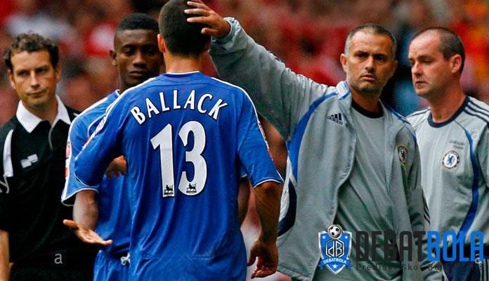 Sosok Jose Mourinho di Mata Michael Ballack