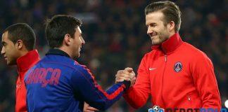Beckham Pensiun Gara-gara Messi