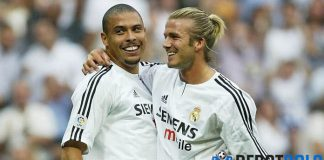 Ronaldo dan Beckham Saling Lempar Pujian