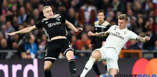 Van de Beek Belum Kepikiran Pindah ke Real Madrid