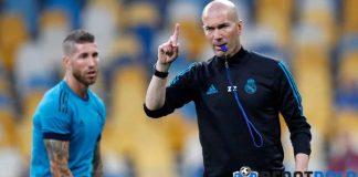 Sudah Kembali Berlatih, Zinedine Zidane Bertekad Akhiri Musim dengan Gelar Juara