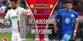 Prediksi Augsburg vs Wolfsburg 16 Maret 2020