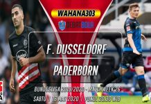 Prediksi Fortuna Dusseldorf vs SC Paderborn 16 Maret 2020