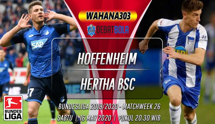 Prediksi hoffenheim vs hertha
