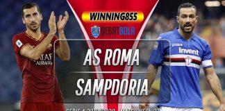Prediksi Roma vs Sampdoria 25 Juni 2020