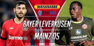 Prediksi Bayer Leverkusen vs Mainz 27 Juni 2020