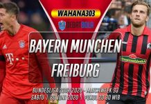 Prediksi Bayern Munchen vs Freiburg 20 Juni 2020