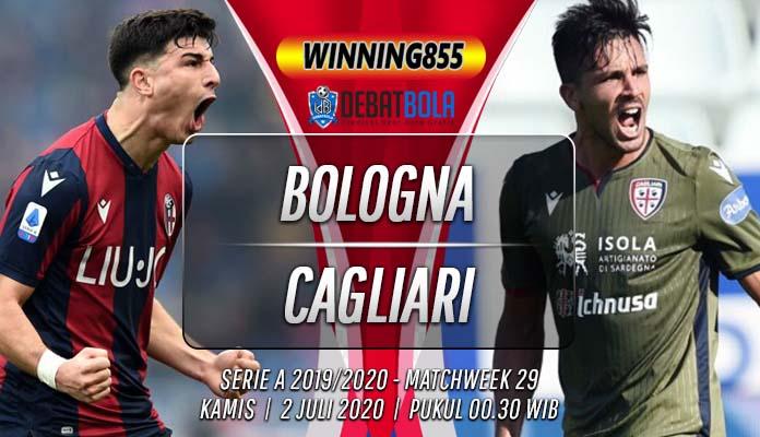 Prediksi Bologna vs Cagliari 2 Juli 2020