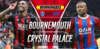Prediksi Bournemouth vs Crystral Palace 21 Juni 2020