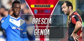 Prediksi Brescia vs Genoa 27 Juni 2020