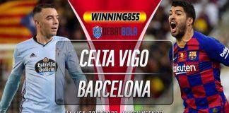 Prediksi Celta Vigo vs Barcelona 27 Juni 2020