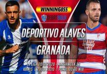 Prediksi Deportivo Alavés vs Granada 2 Juli 2020