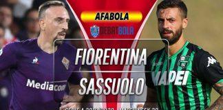 Prediksi Fiorentina vs Sassuolo 2 Juli 2020