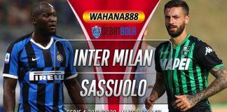 Prediksi Inter Milan vs Sassuolo 25 Juni 2020
