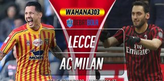 Prediksi Lecce vs AC Milan 23 Juni 2020