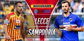 Prediksi Lecce vs Sampdoria 2 Juli 2020